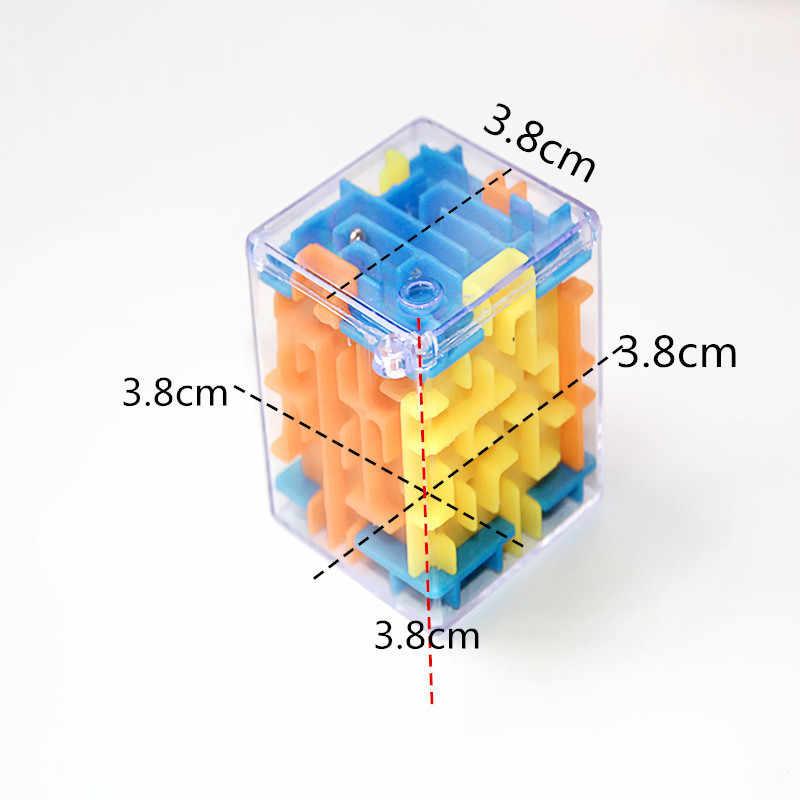 2019 divertido laberinto 3D cubo mágico rompecabezas velocidad cubo rompecabezas juego laberinto bola juguetes laberinto mágico bola juegos educativos