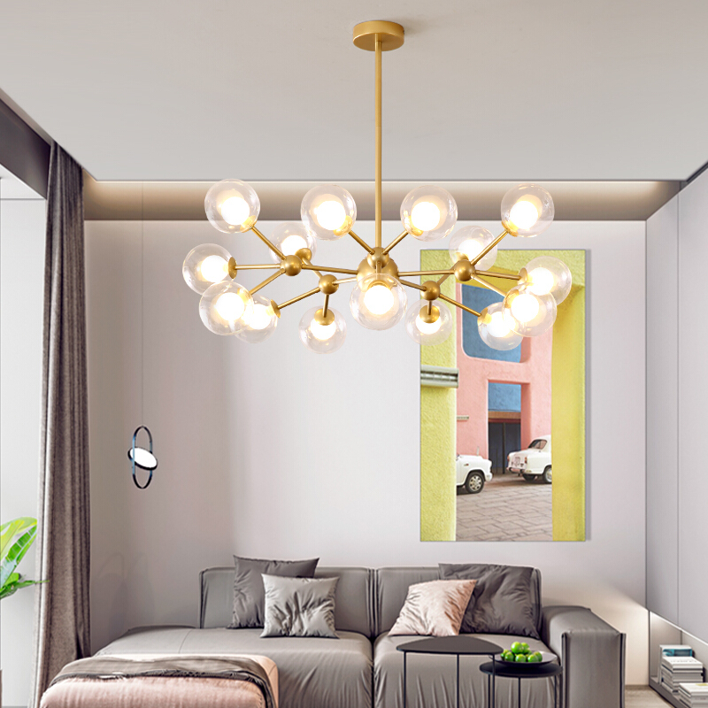 Nordic Simple Style Pendent Lamp Simple Modern Living Room Magic Creative Bedroom Bedroom Cloth Shop Pendent Lights Bar Lighting
