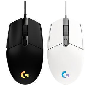 Image 2 - Игровая мышь Logitech G102 IC PRODIGY, оптическая, 8000 DPI, цветной СВЕТОДИОДНЫЙ экран 16,8 м, настройка, 6 кнопок, международная версия