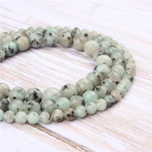 Wholesale Tianshan Blue Natural Stone Beads Round Beads Loose Beads For Making Diy Bracelet Necklace 4/6/8/10/12MM