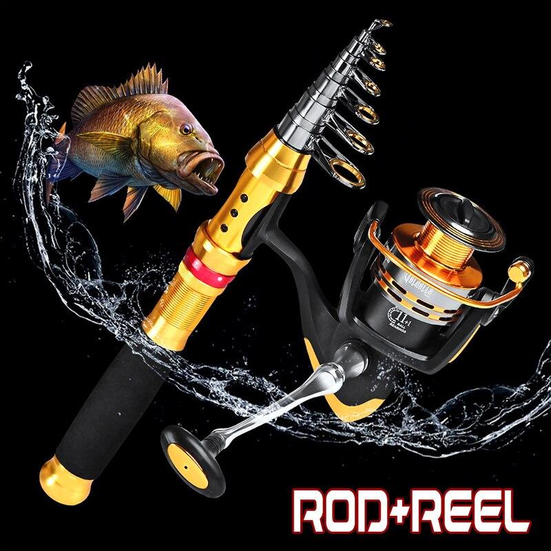 de pesca linha peixes kit 05