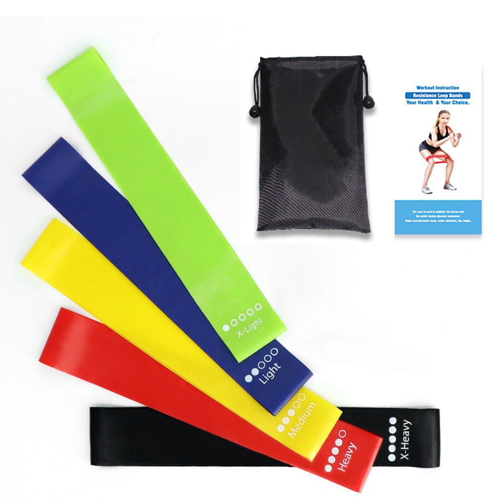 Resistance Bands Set Elastische Band Voor Fitness Elastiekjes Elastiekjes Voor Gum Set Sport Yoga Oefening Gym Rubber Workout