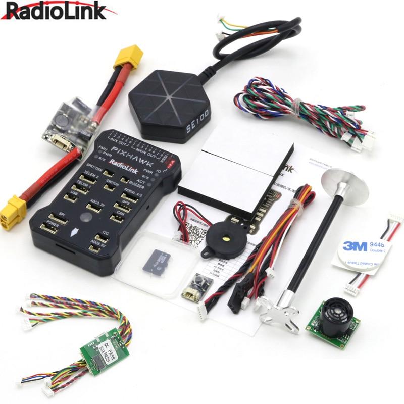 Radiolink Pixhawk PIX APM Flight Controller Combo with GPS Holder M8N GPS Buzzer 4G SD Card Telemetry Module Mounting foam