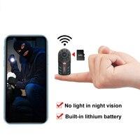 Wireless WiFi piccola Mini telecamera sorveglianza di sicurezza domestica intelligente telecamera minuscola visione notturna interna rilevazione di movimento Pet Baby Monitor