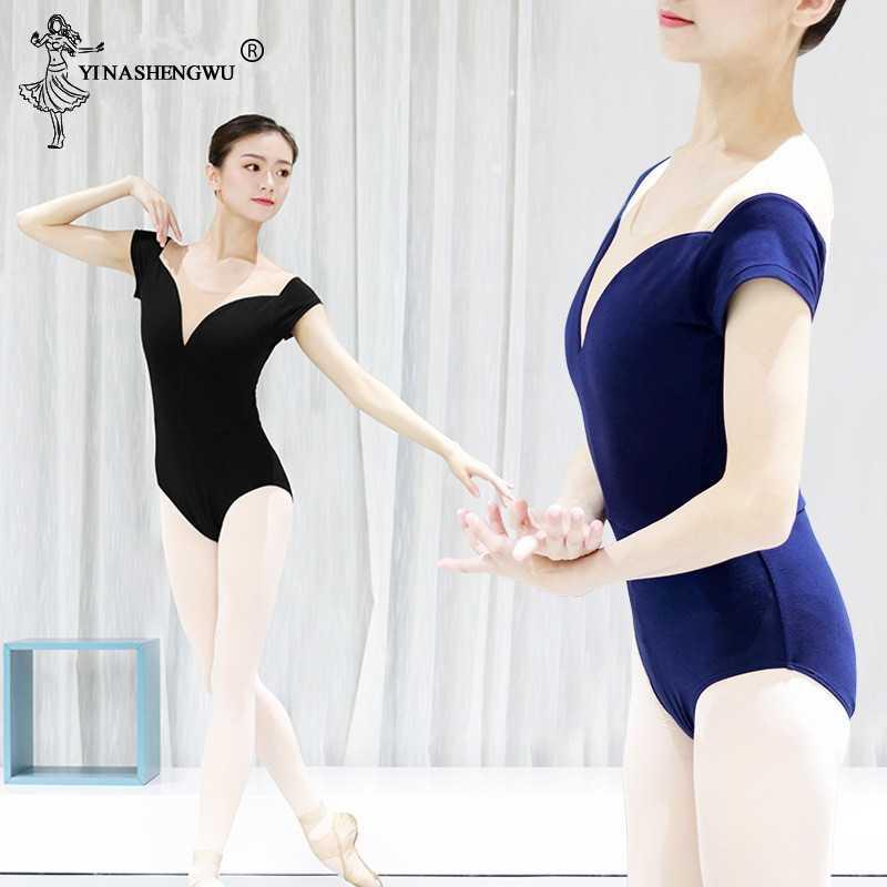Las chicas gimnasia Leotardos de Ballet profesional tanque leotardo adultos práctica de baile traje de diseño sirena medias leotardo