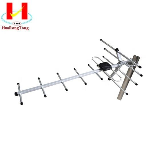 Outdoor 100Miles Amplified Yagi Antenna HD TV 15dB Long Range UHF//VHF//FM