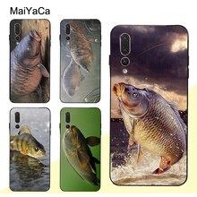 MaiYaCa CARP FISH FISHIN Case For Huawei P20 Lite P10 P30 Pro Mate 10 20 Lite Honor 8X 20 Nova 3E 3I Y9 Y7 rose leather flip case honor 8x y9 2019 mate 20 pro 20 lite 9 lite nova 3i p20 pro smart for huawei nova 3e p20 lite phone case