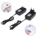 1 шт., адаптер питания 24 В, 2 А для ЕС/США, УФ-светодиодная лампа для сушки ногтей, инструменты для дизайна ногтей