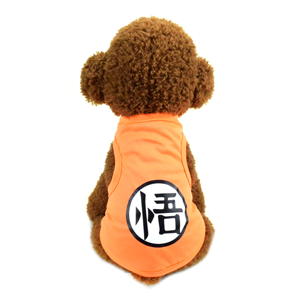 Pet Cat Clothes for Cats Summer Vest T Shirt Dog Cat Clothes Costume for Small Dogs Cartoon Vest for Puppy 35 (17)