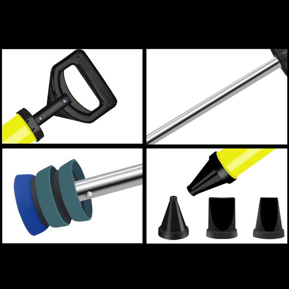 Caulking Gun Cement Lime Pump Grouting Mortar Sprayer Filling Tools W// 4 Nozzles