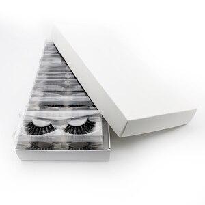 Image 3 - ขายส่งราคาขนตาปลอม 3D Mink Lashes ที่กำหนดเองกล่อง NATURAL Mink Eyelashes fluffy ขนตาปลอมแต่งหน้าขนตาปลอมจำนวนมาก