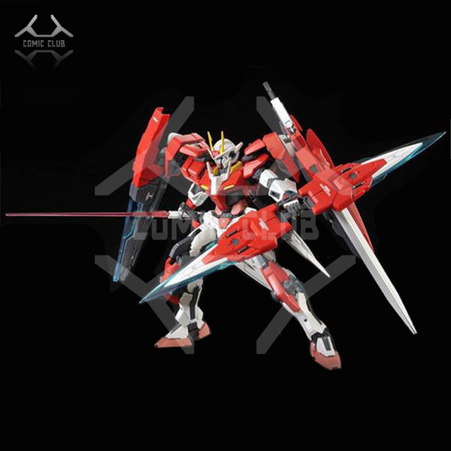 COMIC CLUB INSTOCK MJH mojianghun MG 1/100 Gundam 00 OOR Seven Sword assembly robot action toy figure