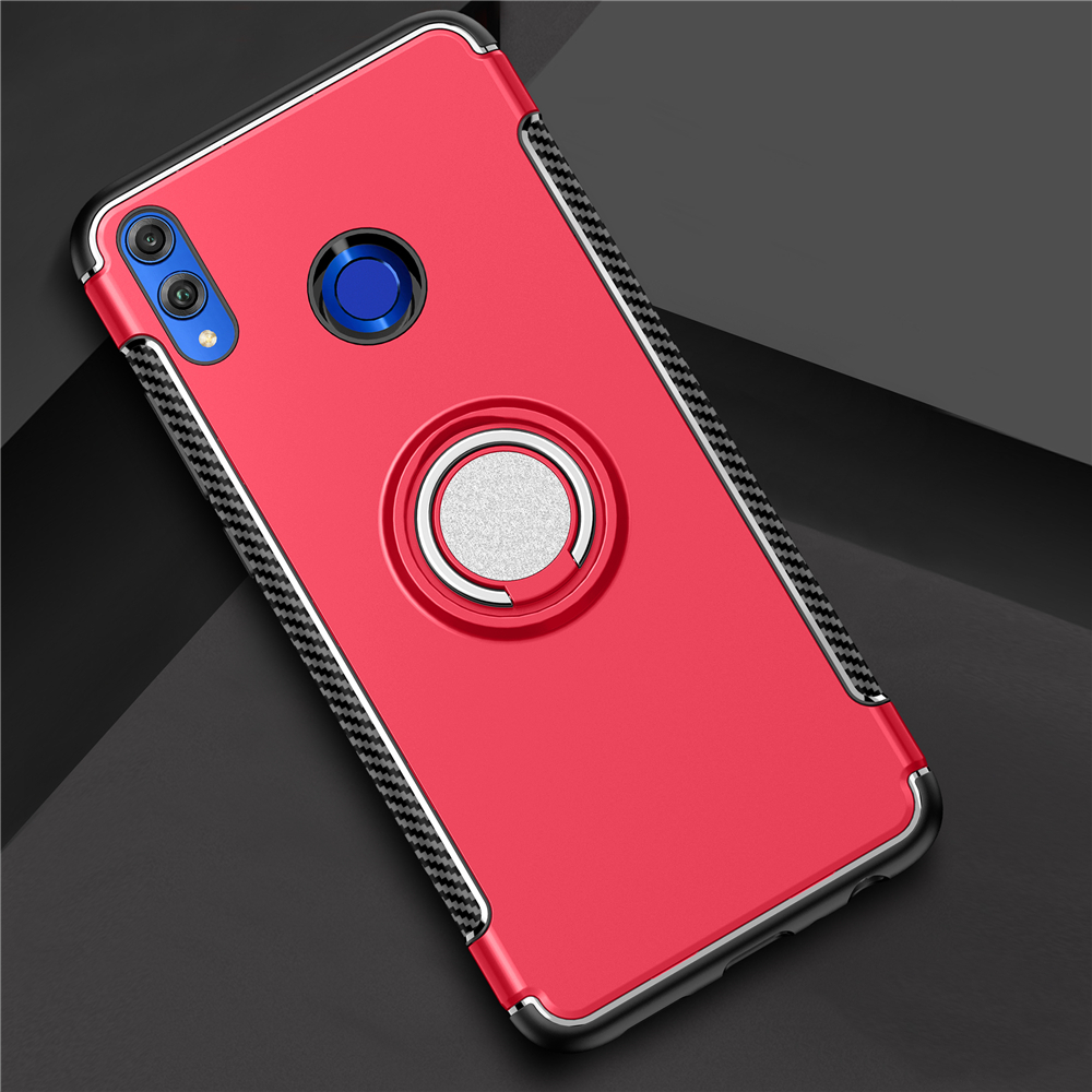 ShockProof <font><b>Case</b></font> For Huawei <font><b>Honor</b></font> <font><b>8X</b></font> <font><b>Max</b></font> 7X Dual Layer Hybrid Anti Knock KickStand Magnet Ring <font><b>Case</b></font> For Huawei <font><b>Honor</b></font> 8 7 X <font><b>Max</b></font> image