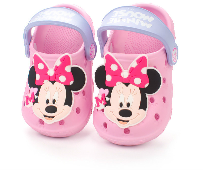 Children's Sandals Indoor Outdoor Slippers Hole Shoes Sandals Cartoon Cute Non-slip Beach Shoes Kids   EVA  Toddler Slippers