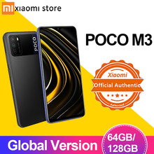 Smartphone poco m3 4gb 64gb 128gb xiaomi versão global mobilephone, telefone, celular, telefone celular, telefone, telefone móvel, poco m 3