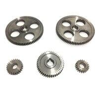 5 pçs/set CJ0618 Máquina Ferramenta Engrenagem Engrenagens De Metal Micro Artes Torno De Corte De Metal Gear|Torno| |  -