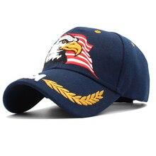 American Flag USA Eagle Baseball Hat Cap for Women Men Adjus