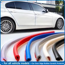 5m coche protección de puerta tira de goma Protector de puerta de coche molduras lado Anti-rub protección Puerta de coche de arañazos coche-estilo