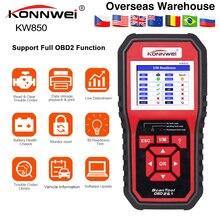 KONNWEI KW850 tam fonksiyonlu OBD2 ODB2 tarayıcı OBDII teşhis tarayıcı araç teşhis tarayıcı evrensel OBD motor kod okuyucu
