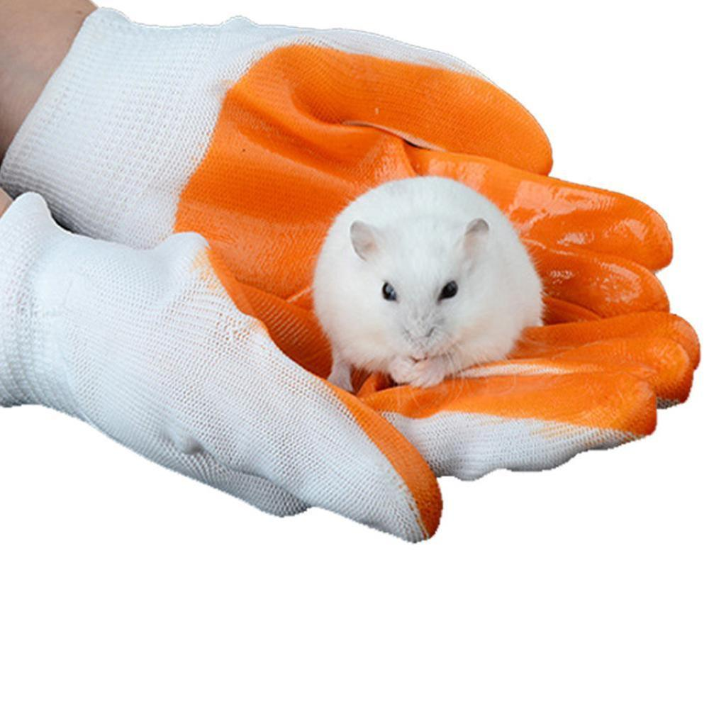 Small Pet Anti-bite Gloves Anti-smashing Hand Protective Gloves From Hamster Rabbit Chinchilla Guinea Pig Anti-bite