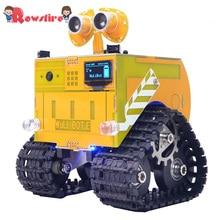 WuliBot скретч+ Mixly программируемый робот RC программируемый трек автомобиль паровой развивающие игрушки с камерой/без камеры