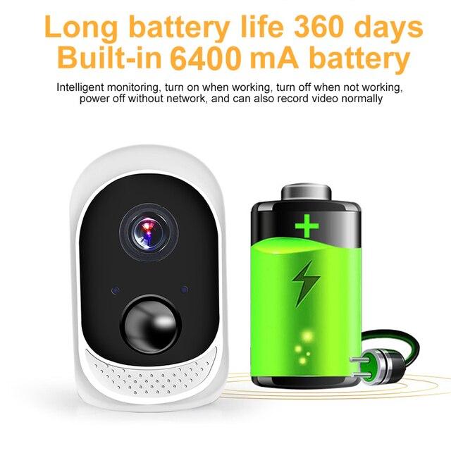 2MP Security Solar Camera Power Outdoor Waterproof Wifi IP Camera Night Vision Surveillance CCTV Camera Video Recorder 32G Card 2