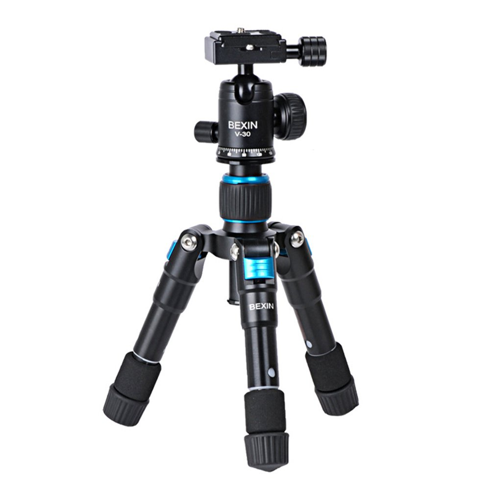 Tripod ULTRA COMPACT Desktop Macro Mini Tripod Kit With Ball Head For Compact DSLR's And Camcorders On Desktop