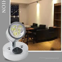 Lampa sufitowa LED 3W DC12V 180 ° regulowany reflektor domowy kinkiet ciepły biały zimny biały Mordern lampa sufitowa tanie tanio oobest CN (pochodzenie)