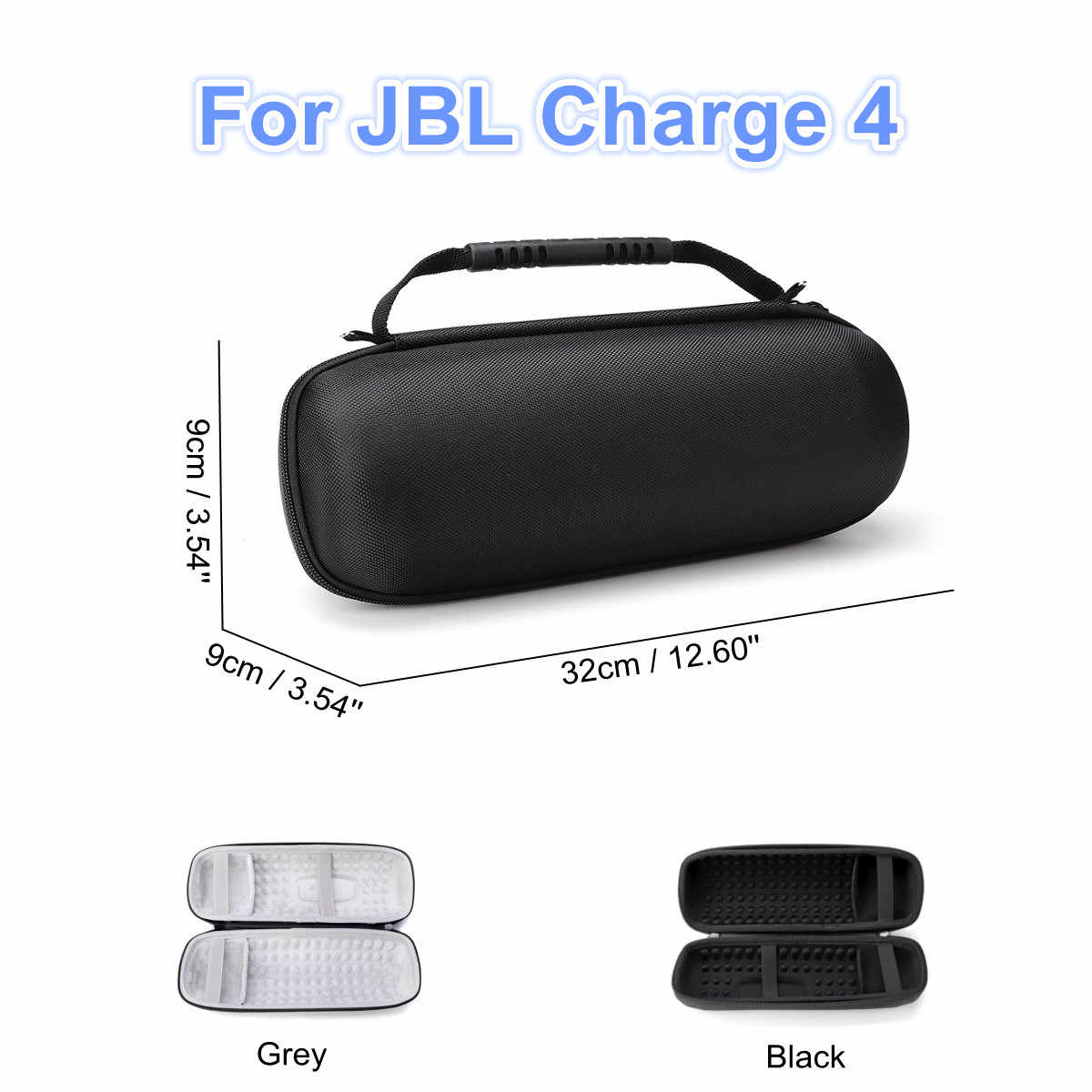 NEW Oxford Cloth Zipper Carry Storage Box Bag Shockproof Storage Case for JBL Charge4 Column for JBL Charge4 bluetooth Speaker