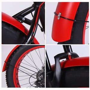 Image 3 - Wolfun fang bisiklet dağ bisikleti yol kar yağ hızlı bisiklet aksesuarları 26*4.0 çamurluk tam kapsama yeni ürün ücretsiz kargo