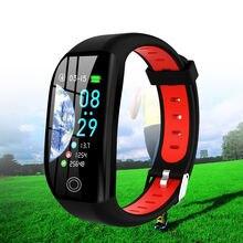 Новые цифровые наручные часы умный Браслет шагомер измерение