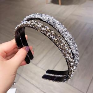 New Fashion Pearl Crystal Hair
