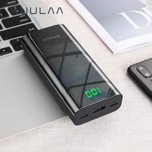 KUULAA Power Bank 10000mAh Portable Charging Poverbank Slim External Battery Charger For Xiaomi Mi 9 8 iPhone