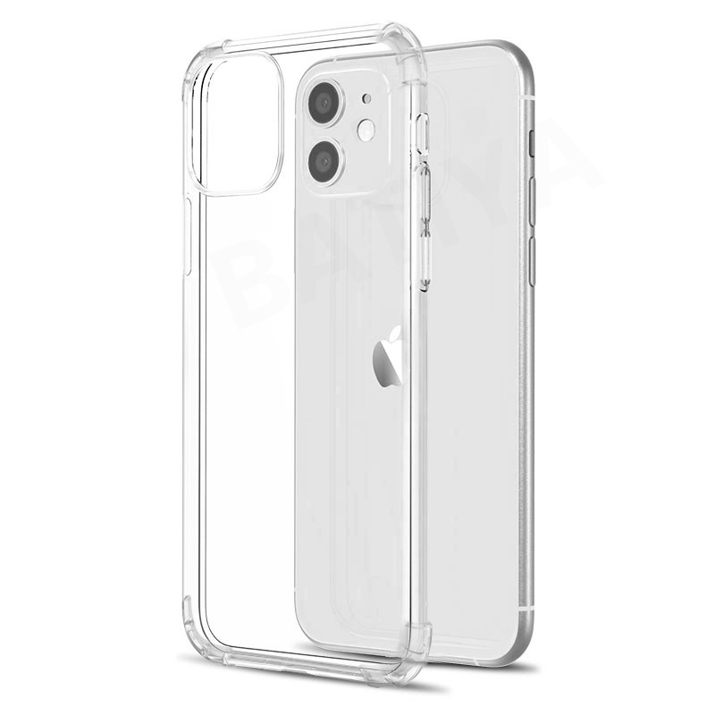 Luxury Shockproof Silicone Phone Case For iPhone 11 Pro X XR XS MAX 6 6s 7 8 Plus SE 2020 Case Transparent Protection Back Cover