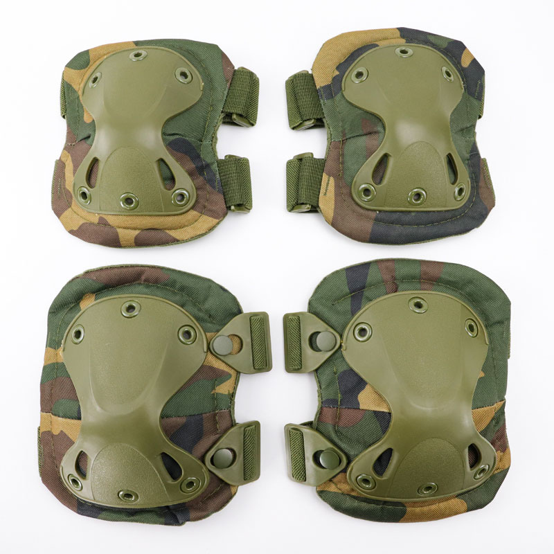 Airsoft Hunting Sports 2020 New Army Tactical Paintball Military Protection Knee Pads & Elbow Pads Set