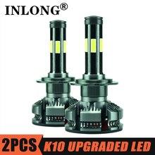 INLONG 2Pcs 9006 h7 Led Canbus kein fehler h4 Led lampen H8 H9 H11 HB4 HB3 9005 Led scheinwerfer Mini 6500K 16000LM Nebel Lichter