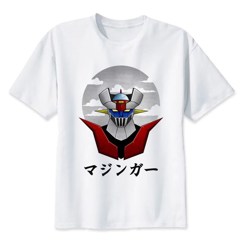 <font><b>Mazinger</b></font> <font><b>Z</b></font> <font><b>T</b></font> <font><b>Shirt</b></font> Men Anime <font><b>T</b></font>-<font><b>Shirt</b></font> Men Tops Boy Printed <font><b>T</b></font>-<font><b>Shirt</b></font> Oversized Comic Fashion <font><b>T</b></font>-<font><b>Shirt</b></font> Cotton S-5xl HipHop image