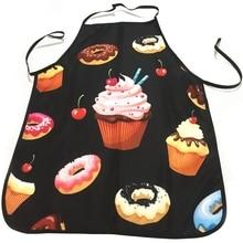 BMBY-Ice сливочный пончик вкусный десертный магазин персонал одеваются красота кухня защитная одежда платья родитель-ребенок Деятельности Фартук