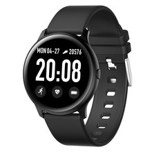 купить 2019 New Smart Watch IP68 Waterproof Heart Rate Blood Pressure Monitoring LEMFO Smartwatch Fitness Tracker for Men Women дешево
