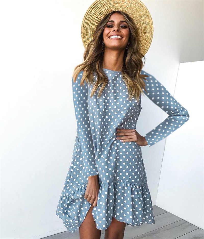 Модные Платья В Горох 2021