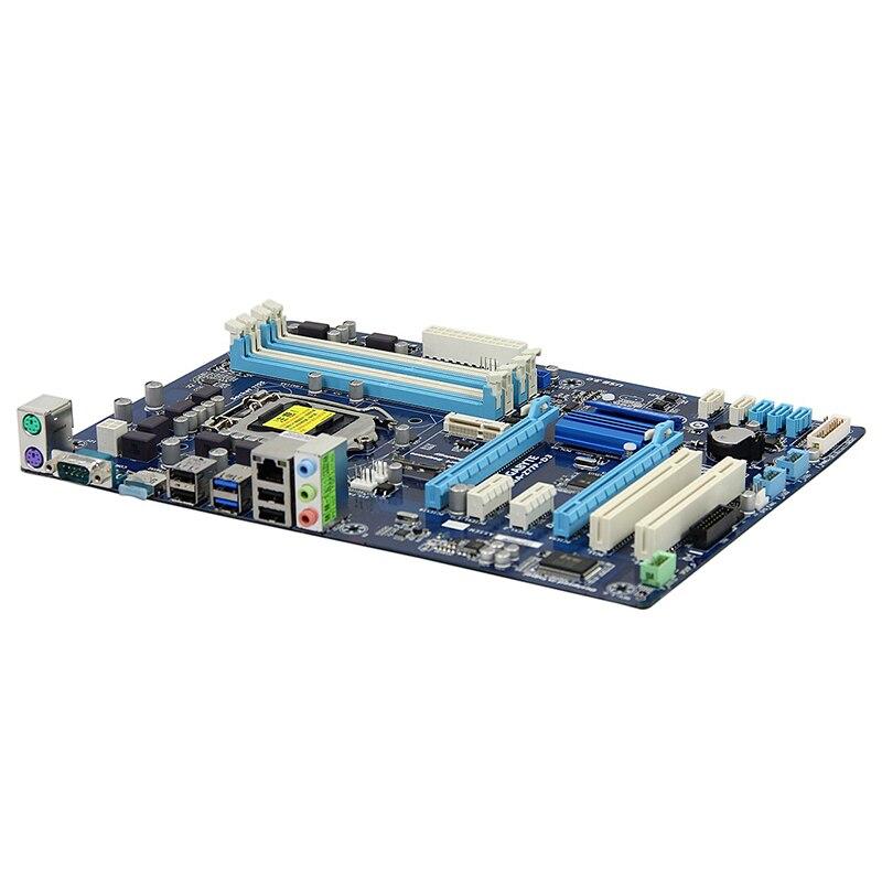 For Gigabyte GA-Z77P-D3 Desktop motherboard MB Z77 LGA 1155 ATX DDR3 32GB SATA3.0 USB3.0 100% fully Tested Free shipping 2