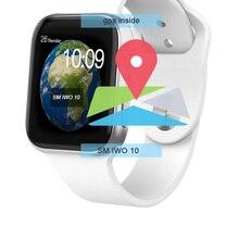 Smochm IWO 10 gps часы Bluetooth умные часы спортивные Смарт часы Обновлено IWO 9 Беспроводное зарядное устройство для iPhone Android