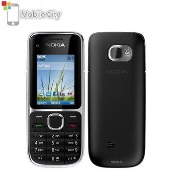 Перейти на Алиэкспресс и купить Nokia C2-01 разблокированный GSM мобильный телефон C2 RM-722 модель с ивритовой клавиатурой и языком использования мобильных телефонов