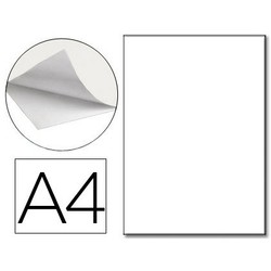 POLYESTER SPECIAL WHITE Q-CONNECT MATTE OPAQUE DIN A4 FOR LASER PRINTERS PACK 100 SHEETS 125 MICRON