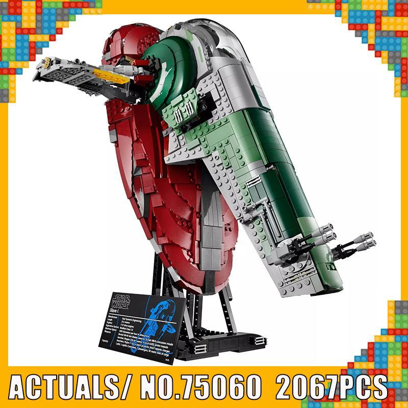 Creative Star Wars Series UCS I Slave NO.1 Model Building Blocks Compatible WITH LegoINGlys 75060 2067PCS Bricks Traditional Toy