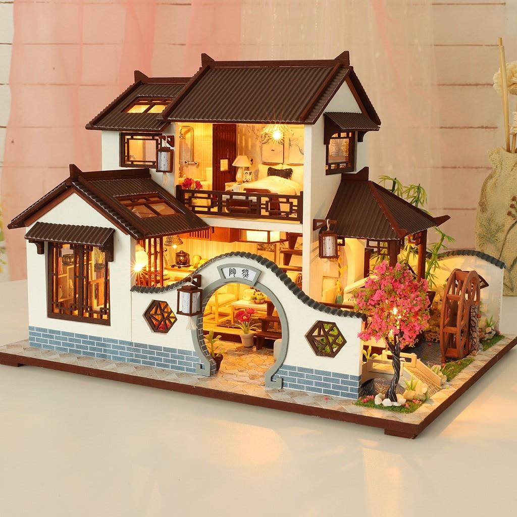 H12837cad571d4352a29130524d0e54f0N - Robotime - DIY Models, DIY Miniature Houses, 3d Wooden Puzzle