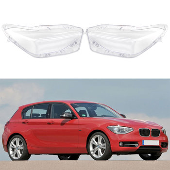 Car Headlight Transparent Glass Lens Cover For BMW F20 2012 2013 2014 Front Left Right Headlamp Lampshade Auto Accessories