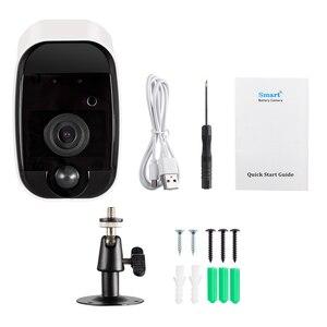 Image 3 - KERUI sans fil H.264 extérieur 1080 P Full HD 2.4G WiFi 18650 batterie IP caméra intérieure de Surveillance de sécurité à domicile caméra de IR CUT