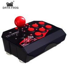 Data Frog 4 in 1 Arcade Rocker per Nintendo Switch Console Controller di combattimento Joystick di gioco per PS3 Gamepad per PC/Android TV