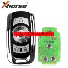 XHORSE VVDI2 Универсальный 4-кнопочный проводной дистанционный ключ для гаражной двери Английская версия для VVDI Key Tool XKGD10EN